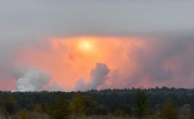 На арсеналі поблизу Ічні припинилися вибухи