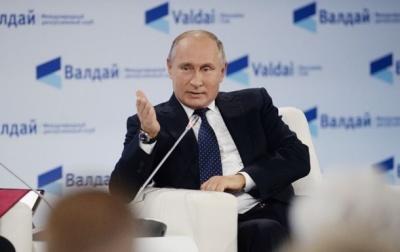 Путін схвалив санкції проти України