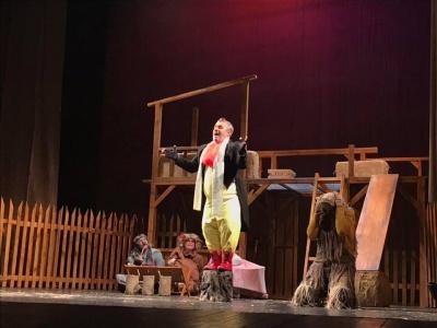 «Дуже проста історія»: у Чернівцях вперше із виставою виступив румунський театр королеви Марії - фото