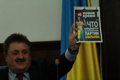 Чернівецька міськрада заборонила самопроголошеному «бургомістру» приходити на сесії