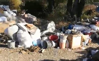 «Соромно за тих, хто це робить»: на автотрасі біля Чернівців виявили масштабний смітник - відео