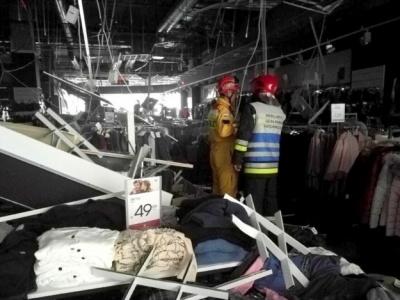 У польському Жешуві на відвідувачів ТРЦ обвалилася стеля, є постраждалі