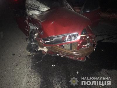 У Чернівецькій області через зіткнення двох легковиків постраждала одна людина
