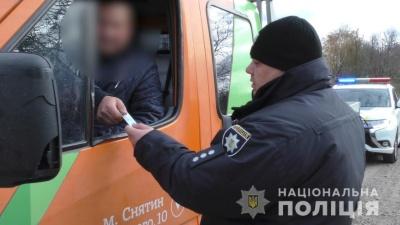 На Буковині поліція вилучила вантажівку через «липові» документи