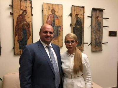 До Чернівців у суботу приїде Юлія Тимошенко