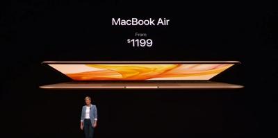 Компанія Apple презентувала нову модель MacBook Air