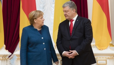 Порошенко навів Меркель незаперечні докази російських злочинних дій проти України