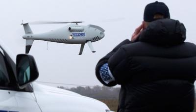 Німеччина та Франція звинуватили РФ у зникненні безпілотника ОБСЄ