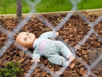 У Черкасах знайшли коробку з-під взуття з зарізаним немовлям
