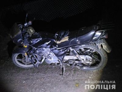 На Буковині мотоцикліст врізався в огорожу і загинув
