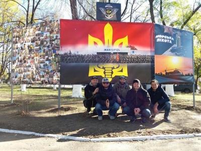Гурт «Гуцул Каліпсо» з Чернівців виступив біля лінії розмежування на Донбасі