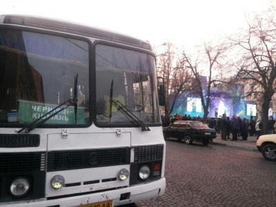 Тимошенко виступила перед чернівчанами на Соборній площі - фото