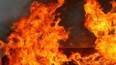 На Буковині через дитячі пустощі згоріла господарська будівля і 7 тонн сіна