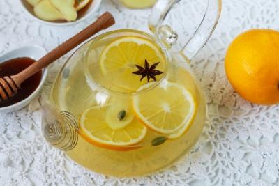 Від грипу та застуди: рецепт імбирного чаю з апельсинами і медом