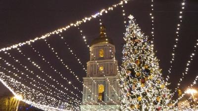 Новорічну ялинку в Києві засвітять 19 грудня