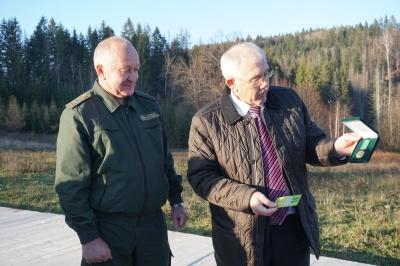 Фищук вручив нагороди трьом лісівникам до 100-річчя Буковинського віча