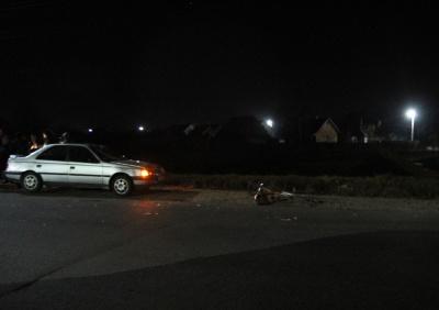 На Буковині легковик збив пішохода: постраждалий у лікарні