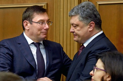 Луценко розповів, що мав «гостру розмову» з Порошенком через свою заяву про відставку