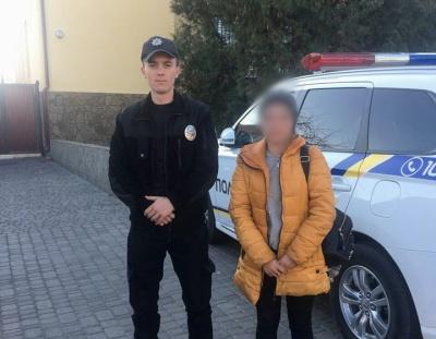 На Буковині знайшли дівчину-підлітка з Тернопільщини, яка зникла кілька днів тому
