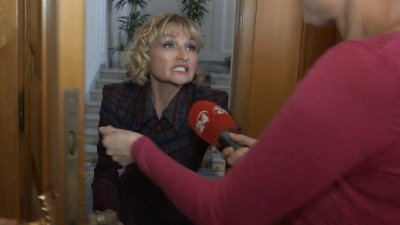 Дружина генпрокурора Луценка виштовхала вагітну журналістку через незручне питання