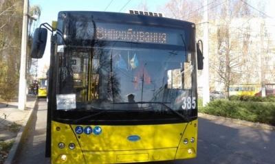 У Чернівцях для нового тролейбусного маршруту №9 хочуть закупити шість нових «рогатих»