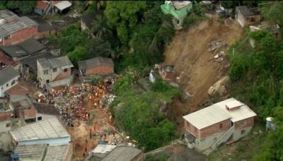 У Бразилії через зсув грунту загинули 14 осіб