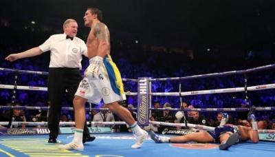 Усик посів третє місце у рейтингу найсильніших боксерів світу за версією BoxRec