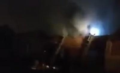 Пожежа на складах в Садгорі: площа вогню складала майже 100 кв м