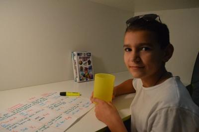 Юний школяр з Буковини досліджує користь «живої» води