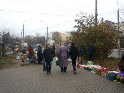 Чому в Чернівцях процвітає стихійна торгівля. Блог Світлани Матвієнко
