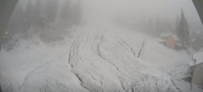 Карпати засипає снігом - фото
