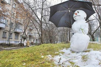 Синоптики прогнозують Україні аномально теплу зиму