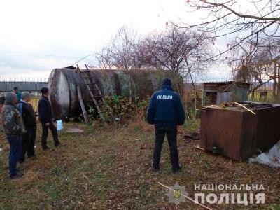На Буковині затримали крадія нафти, який понад півроку вивозив її на підпільну переробку