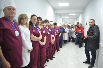 У Кіцманській лікарні відкрили нове відділення - фото
