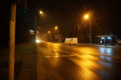 У Чернівцях випав перший сніг - фото