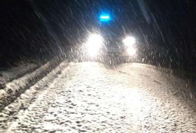 Перший сніг: якими трасами Чернівецької області безпечно їздити