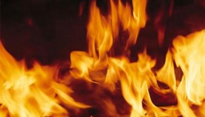 У Чернівецькій області згоріла господарська будівля