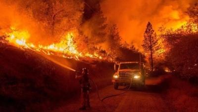 Внаслідок пожеж у Каліфорнії кількість зниклих безвісти перевищила 1200 осіб