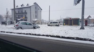 Штормове попередження. На Буковині у найближчі години очікується сильний снігопад