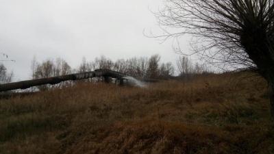 Прорив на водогоні поблизу Чернівців не можуть залатати майже три тижні