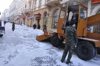 Продан задоволений тим, як розчищають від снігу вулиці Чернівців