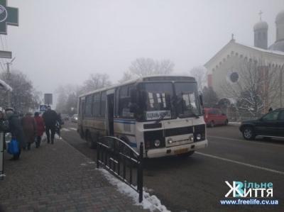 Проїзд у маршрутках з Чернівців до Кіцманя подорожчає