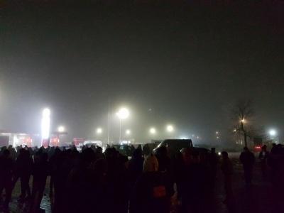Пікет на Порубному завершився, мітингувальники роз'їхались