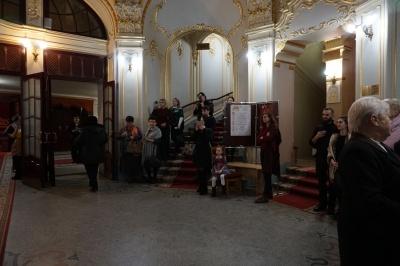 У Чернівцях відбулася прем'єра вистави про Ольгу Кобилянську - відео