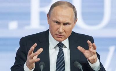 """Путін звинуватив Порошенка у """"провокації перед виборами"""""""