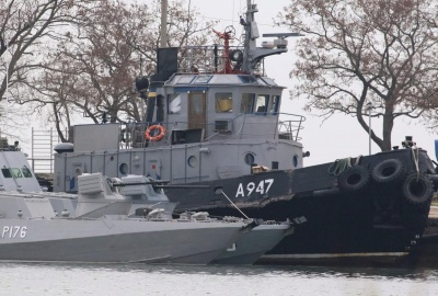 Україна звернулася до Трибуналу ООН через захоплення Росією військових кораблів