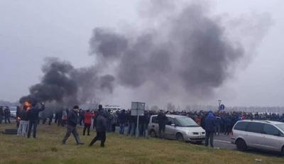 ДФС назвала суму збитків від блокування кордону «євробляхерами»