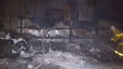 Пожежу на ринку в центрі Чернівців погасили - поліція