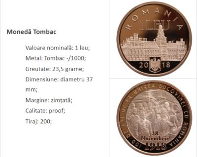 Нацбанк Румунії зобразив Чернівецький університет на ювілейних монетах – фото