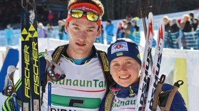Українські біатлоністи здобули бронзу на етапі Кубку світу